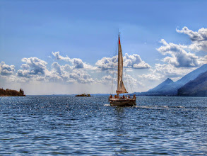 Photo: Sailing at Lake Garda  #Lagodigarda  #Italy  #italytravel  #gardasee  #sailing