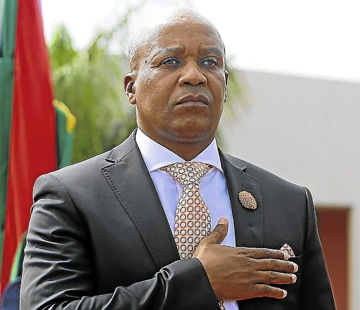 Feeling the squeeze: Eastern Cape Premier Phumulo Masualle is coming under pressure to get rid of some of his executive committee members. Picture: THE HERALD