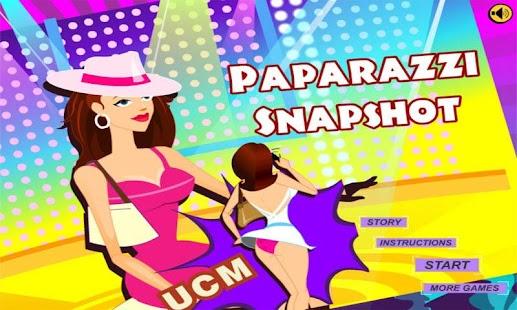 Paparazzi Snapshot screenshot