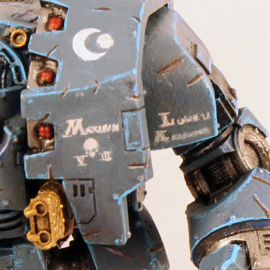 Leviathan Dreadnought, left side closeup