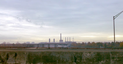 Photo: Morning view over Mystic River
