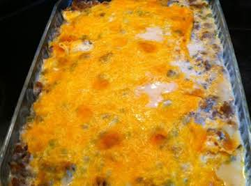 Ground Beef & Potato Casserole