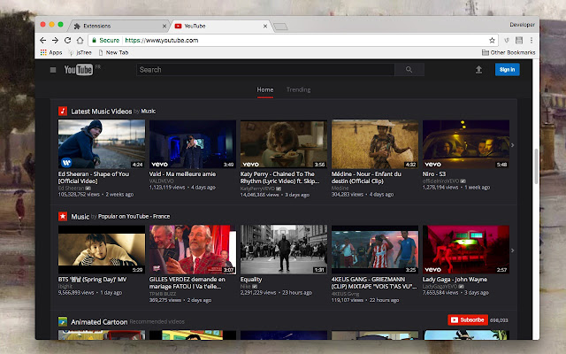 how to turn on dark theme on youtube app android