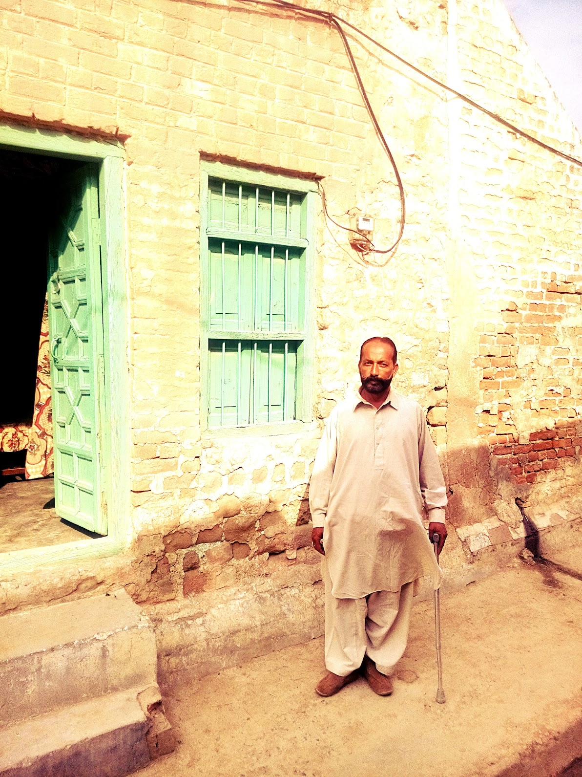 Grandson of Shahamad Khan out of their ancestral house