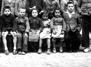 Photo: Grupo Escolar (1940) - José Labalsa - Miguel Belenguer - Sabina Gota - Rosa Laguarta - Aurea Sierra - Ramón Cativilla - © José Antonio Serrate Sierra
