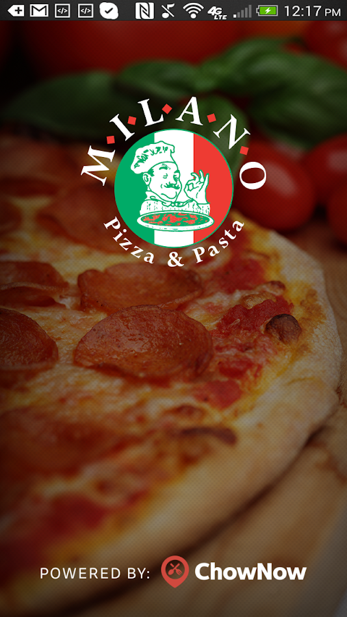 Milano Pizza and Pasta- screenshot