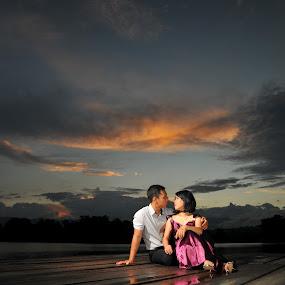 Prewedding Romel & Rina by Edo Amaramukti - Wedding Bride & Groom