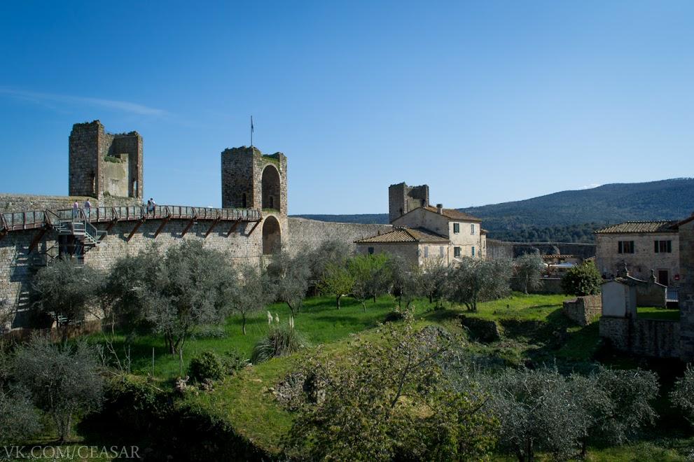 Монтериджони, провинция Тоскана