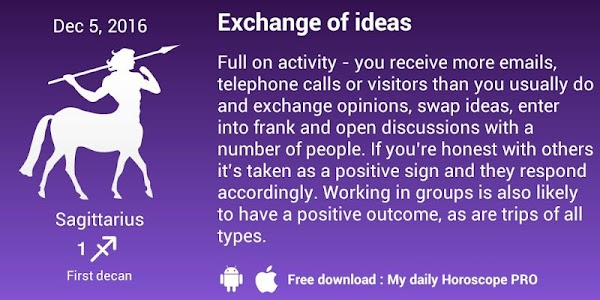 Download My daily horoscope PRO APK latest version 1 4 13