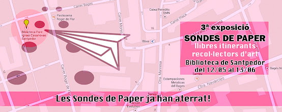 Photo: 3ª Exposició de Sondes de Paper Biblioteca de SAntpedor 12/05 fins 13/06 de 2014