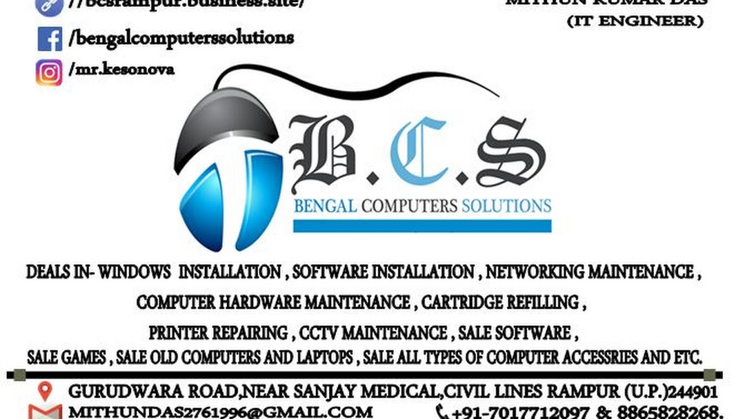 Bengal Computers Solutions - DEALS IN- WINDOWS INSTALLATION