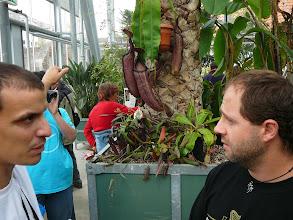 Photo: The EEE 2007 at the Hortus Botanicus Leiden. On the left Mr. Aga (Italy).