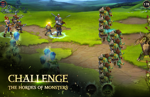 Mod Game Chaos Lords Tactical RPG for Android