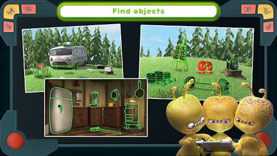 Masha and the Bear Mod Apk: We Come In Peace! (No Ads) 1.0.3 5