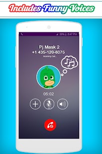Call From The Pj Masks - náhled