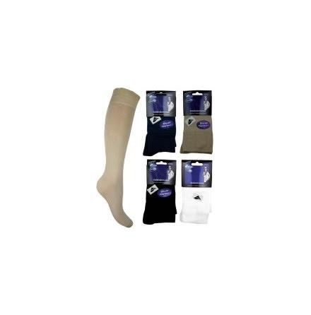 Stödstrumpa Enfärgad - 12 mmHg kompression
