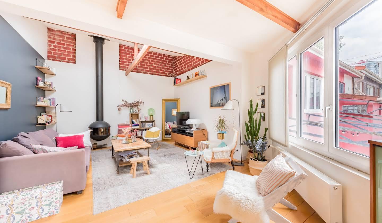 Appartement avec terrasse Montreuil