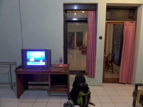 Photo: TV but only Indonesian Channels