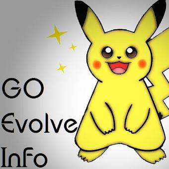 Evolve Info for pokemon go