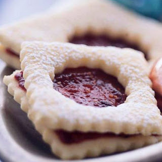 Raspberry-Fig Linzer Cookies