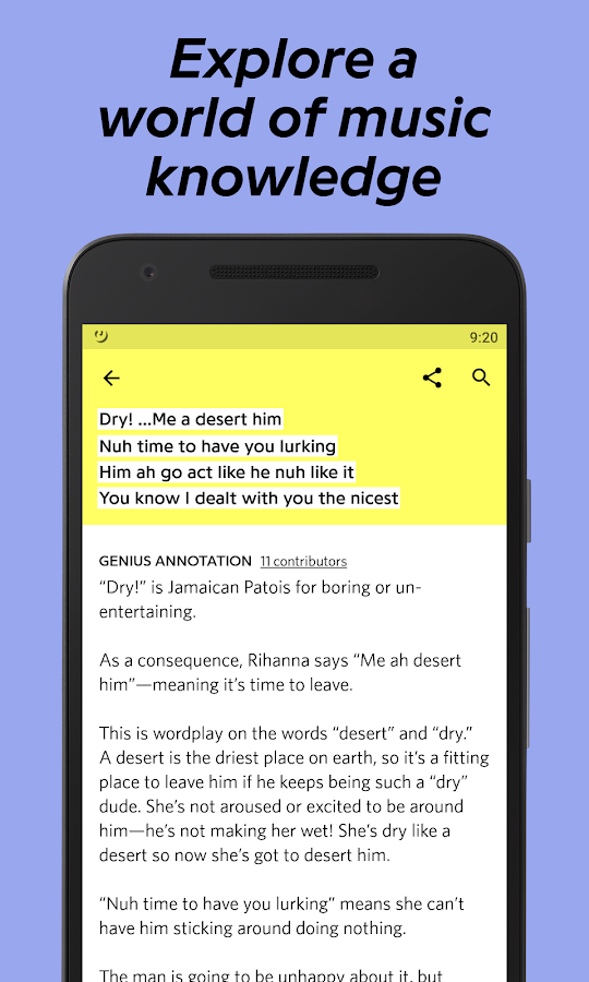 Lyric rap song finder by lyrics : Genius — Song Lyrics & More – Android Apps on Google Play