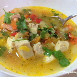 Fish Sour Soup- Romanian style