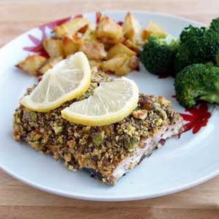 Pepper Pistachio-Crusted Salmon