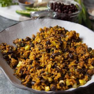 Smoky Black Bean Rice.