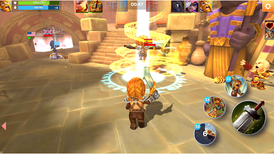 Heroes Rage Screenshot