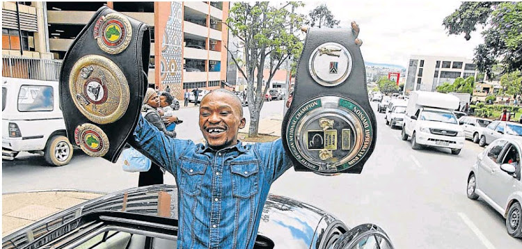 IBO Intercontinental champion Simphiwe Konkco geared up for July 22 bout.