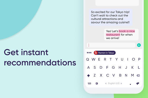 Fleksy: The Private Keyboard 9.9.2 screenshots 1
