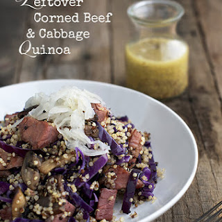 Leftover Corned Beef and Cabbage Quinoa