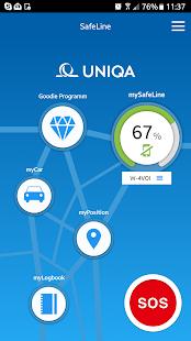 UNIQA SafeLine - náhled