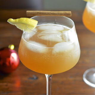 Apple Cinnamon Cocktails Recipes.