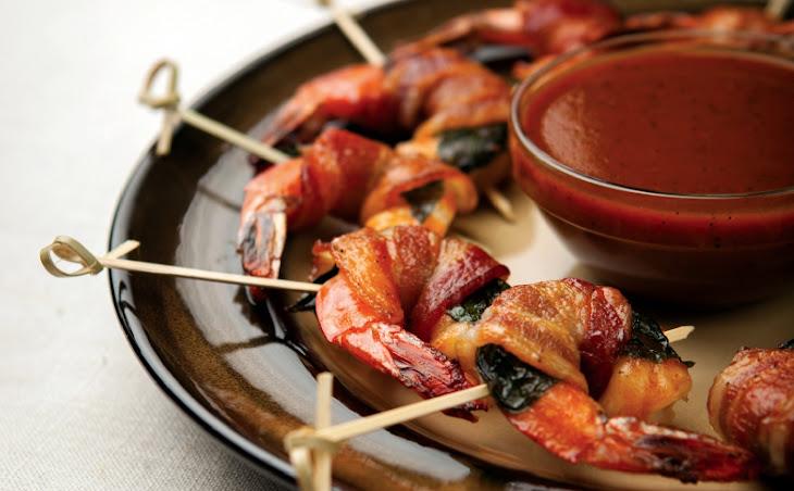 Bacon Basil-Wrapped Shrimp Recipe
