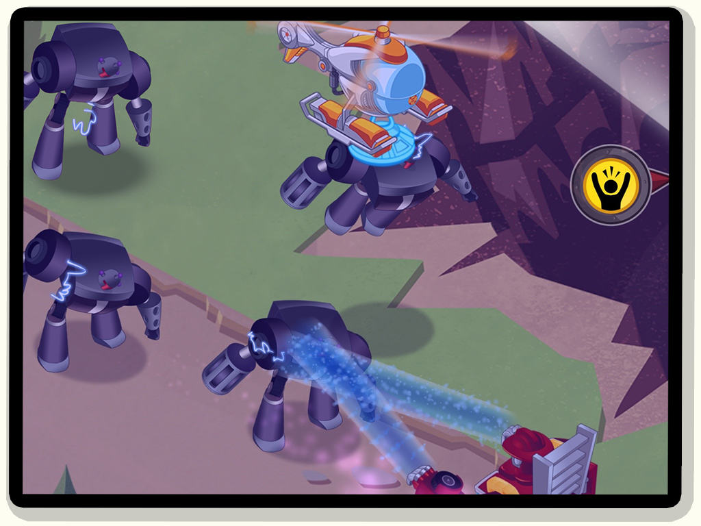 Transformers Rescue Bots: Hero- screenshot