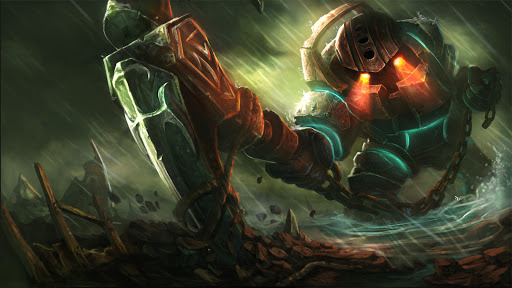 The new League of Legend PBE patch could make Nautilus a jungler again