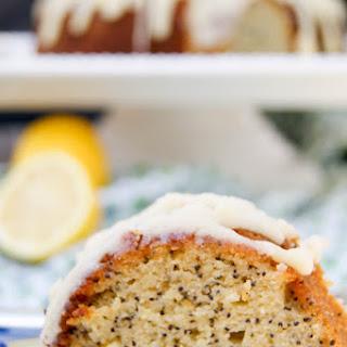 Lemon Poppyseed Bundt Cake   Gluten Free.