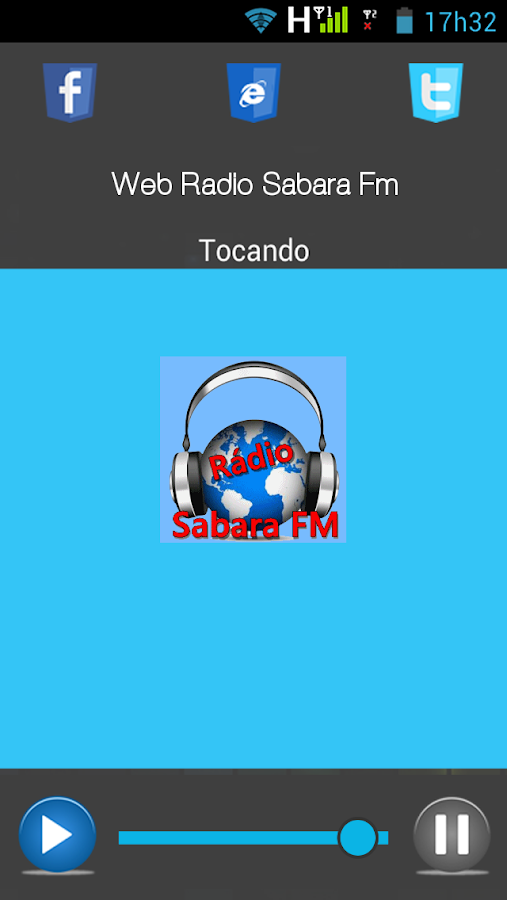 Web Radio Sabara FM- screenshot