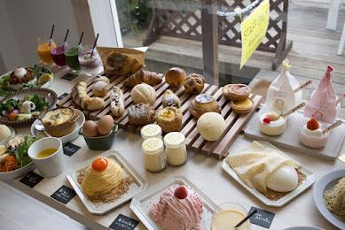 富士山の見える「TAMAGOYA ベーカリーカフェ」で美味しい料理とスイーツを