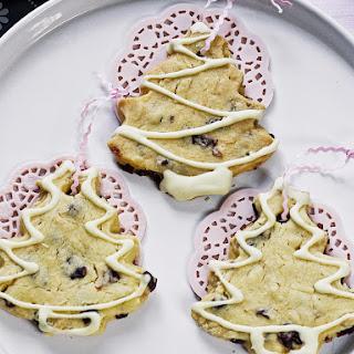 Shortbread Christmas Tree Cookies.