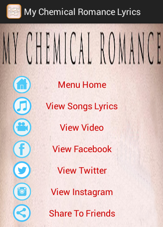 My Chemical Romance Songs
