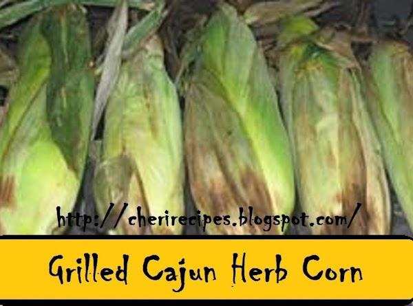Grilled Cajun Herb Corn Recipe