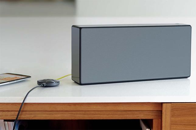 Chromecast audi conectado a altavoz portatil