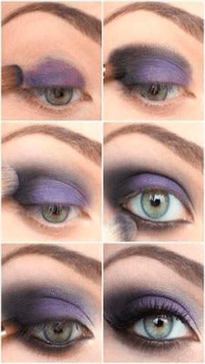 眼部卸妆图片