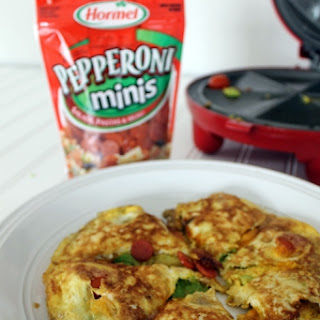 Rise & Shine Omelet Bar with Hormel Pepperoni #pepitup