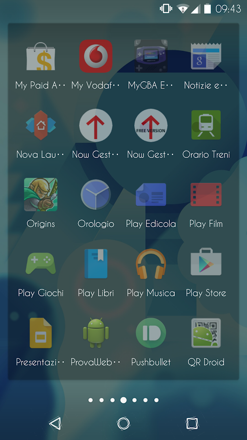 Transparent - CM12/12.1 Theme - screenshot