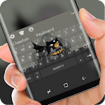 Cute Bat Hero Keyboard Theme Icon