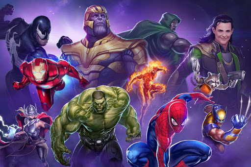 MARVEL Puzzle Quest: Join the Super Hero Battle! screenshot 1