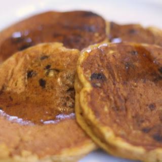 Pumpkin Chocolate Chip Pancake